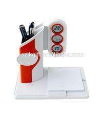 digital multifunction pen holder clock with pen holder