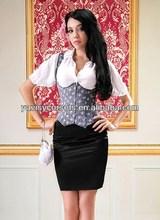 Charming underbust quarter cup corset