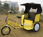 passenger transporting three wheel electric passenger auto rickshaw