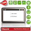 Factory sale 5 inch HD touch screen NAVSTAR gps model no. K9 with fast 800MHz CPU