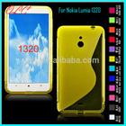 TPU back cover For Nokia Lumia 1320 case
