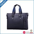 Elegant PU leather handbags laptop bag hot sale business bag for man