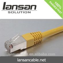 UTP, FTP, SFTP rj45 cat 5 6 lan ethernet(CE/ROHS/ISO/UL/CCC certificates)