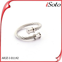 pure silver 2014 braided wedding rings silver gemstone ring