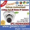 mini ir dome ip camera dahua ipc hdw4300s 3megapixel security cctv dome ip cameras onvif motion detection network cameras