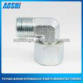 90 codo reductor con tuerca giratoria meric tubo adaptador con el anillo de corte