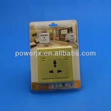 3 years warranty 1 gang Universal Switch wall ac outlet power socket916352
