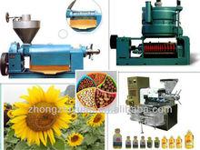 Fully automatic sunflower screw oil press/cold oil press machine
