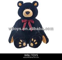 CE approved black cheap big teddy bear with teddy bears wholesale
