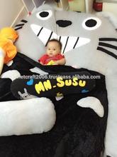 Totoro bed, totoro bedroom, totoro stufedd toy mattress, totoro kids bed