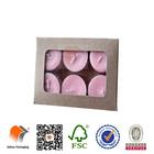 tealight candle kraft paper packaging box