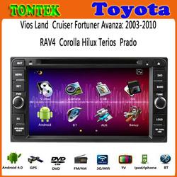 2 years warranty car dvd gps toyota corolla GPS internet WIFI Bluetooth TV USB SD Radio