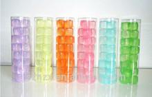 Mini fábrica de cubos de hielo / cubo de hielo de plástico / reutilizable de plástico cubo de hielo