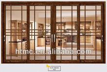 2014 new modern style exterior doors glass sliding door