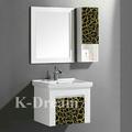 Mobília do banheiro antigo/pvc/plástico espelho do armário