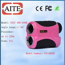 Cheap Golf Equipment Laser Golf Rangefinder with Elevation 400m