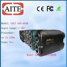 Indoor Golf Equipment Laser Golf Rangefinder with Elevation 400m
