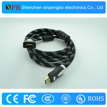 Gold Plated Cable HDMI for PS2 HDMI Video Audio Cable with Ethernet Black Color