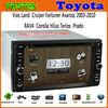 TWO years warranty car dvd for toyota new vios GPS internet WIFI Bluetooth TV USB SD Radio