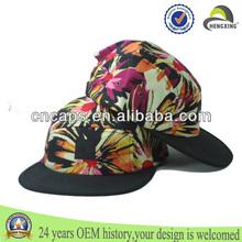 Wholesale Custom Blank Flat Brim Multi-Color Bandana Applique Logo Paisley Marijuana Leaf Floral 5 panel snapback hat
