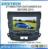 Zestech car lcd tv with built in pc tv ipod gps rds car usb sd dvd player