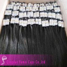 Africa Chinese virgin hair bulk buy ,Natural black Chinese virgin remy hair bulk(YM-BULK-005)