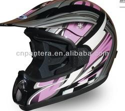 PT112N DOT New Style Hot Cross Face Motorcycle Helmet