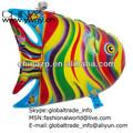 Hot vente 2014 usine de gros en stock coloré. d'africaines ballons en forme de poisson