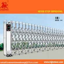 automatic folding sliding retractable gate