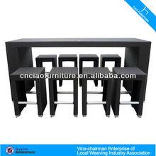 modern rattan bar furniture 2031
