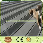 outdoor solid deck floor covering wood plastic patio plank