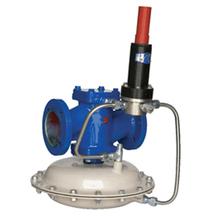 Gas pressure regulator/Spring loaded regulator/Single-stage