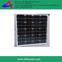 panel solar made in china, High efficiency 50 watt mono solar panel