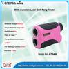 6*24 400m laser slope finder with golf optics laser range finder scope