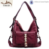 Hot selling!Beautiful designer medium sized woman leisure leather hand bag