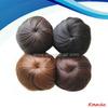synthetic hair piece blonde bun synthetic hair bun dome