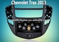 """"""" 8 chevrolet trax 2013 s100 sistema de dvd do carro com gps 3g wifi agenda, pop suporte, 20 cdc, 4g memória"""
