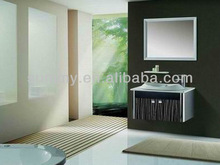 2014 Hot Wall-mounted 800*500mm black bathroom vanity cabinets, china bathroom vanity