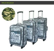 2014 New Design Camo style Travel Luggage