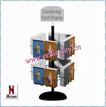Beauty Metal greeting card Display Rack/Floor Standing Card/Literature/Magazine Display Rack For Promotion/Supermarket/office