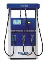 Fuel dispenser RT-W362 for filling sation 3 pumps 6 nozzles 2displays