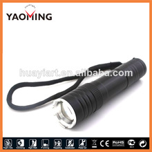 2014 New design flash light police flashing lights hot selling police torch flashlights zoomable LED light torch