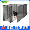 metal large PVC coated dog cage