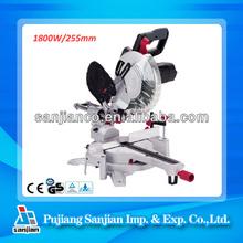 Electric power tools ZP23-255 best Miter saws 1800W 255mm Aluminium cutting tools