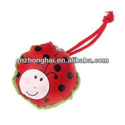 beetle shape foldable shopping bags/ beetle style handbag