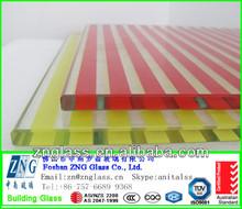 4mm 5mm 6mm 8mm 10mm 12mm 15mm color glaze ceramic frit pattern tempered building glass