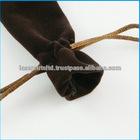 Distinctive Design High-quality Velvet Pen Bag