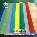Uv e transparente camada de revestimento de pvc usados creche/pisos de vinil piso de plástico utilizado no interior