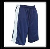 Blue Basketball Short