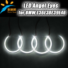 Factory offer outstanding led SMD ring angel eyes 4x131mm 126leds each ring for bmw e38 more bright new hot in market
